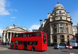Das typische Stadtbild Londons.
