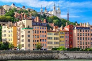 Die Stadt Lyon.