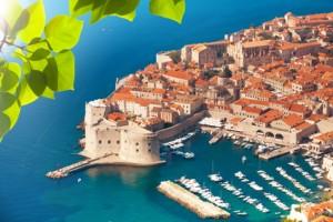 Dubrovnik aus der Vogelperspektive.