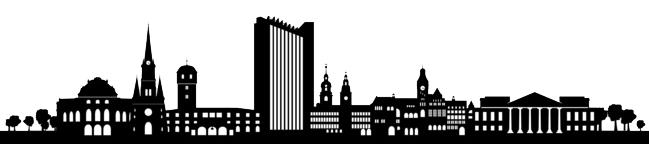 Skyline von Chemnitz.
